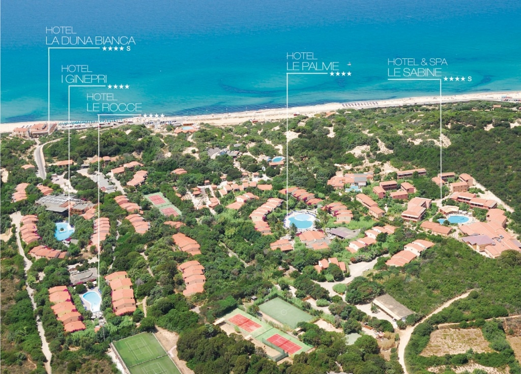 Le Dune Resort & SPA Sardinia August & September