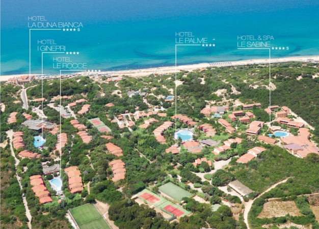 Le Dune Resort & SPA Sardinia August & September Special Deals
